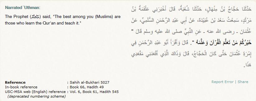 Quran_Classes_Hadits